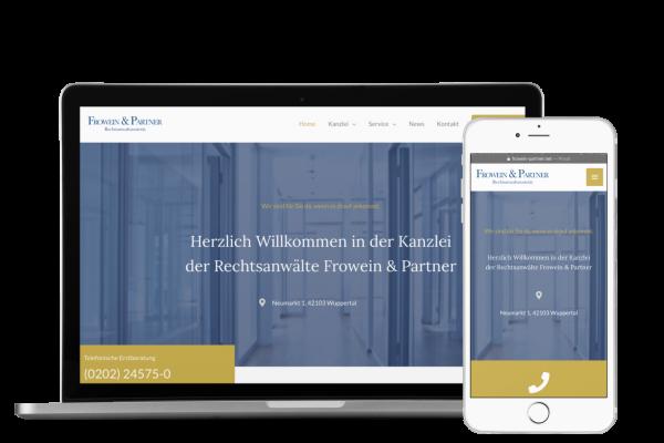 Website Rechtsanwalt Anwaltskanzlei